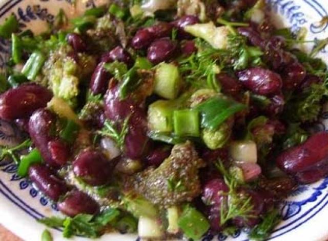 Рецепты салатов из зеленых помидор пошагово