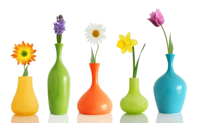 Ваза для живых цветов