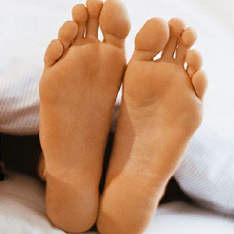 Сексуальные пальцы на ногах