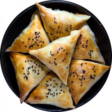 Самса блюдо киргизской кухни