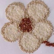 Цветок из риса